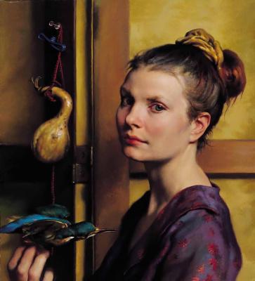 Нельсон Шэнкс. Портрет женщины