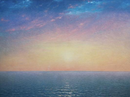 Джон Фредерик Кенсетт. Восход солнца на море