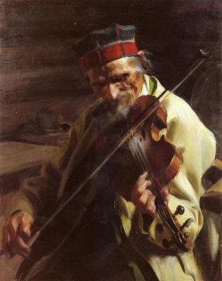 Anders Zorn. Musician