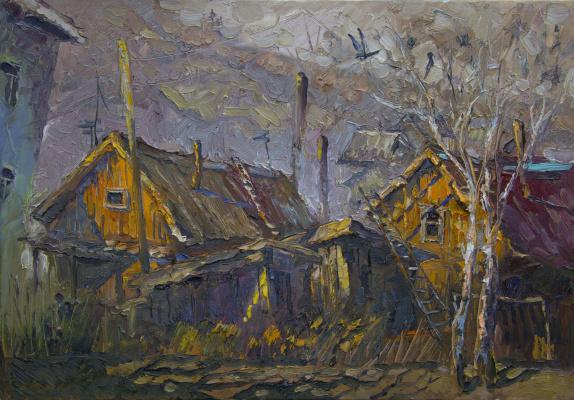 Sergey Chursin. Крыши освещённые солнцем