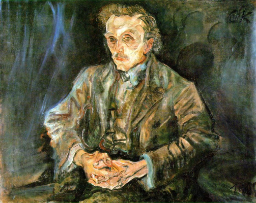 Oskar Kokoschka. Adolf Loos