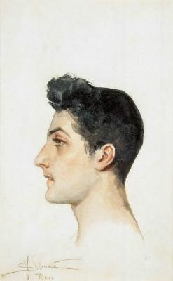 Сергей Сергеевич Соломко. Портрет итальянского юноши