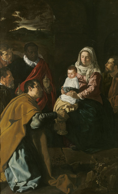 Diego Velazquez. The adoration of the Magi