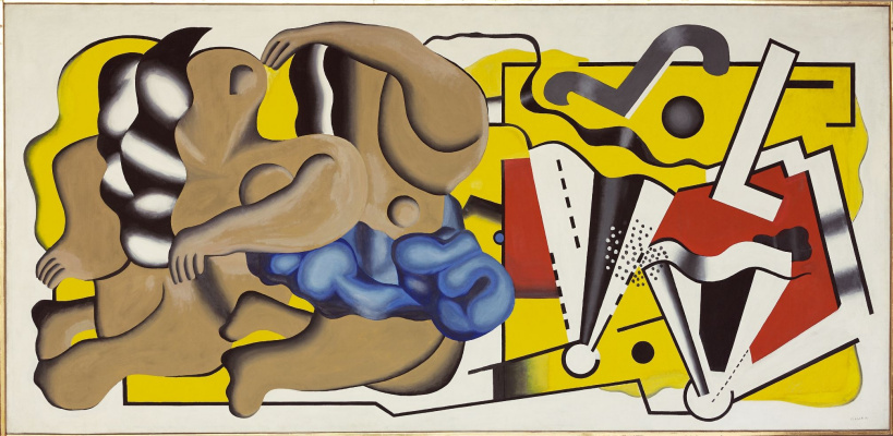 Fernand Leger. Composition I (Painted for the dining room)