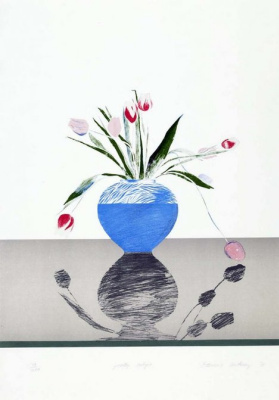 David Hockney. Tulips