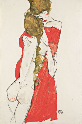 Egon Schiele. Mother and Daughter