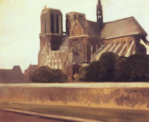 Edward Hopper. Notre Dame