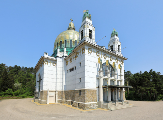 Otto Koloman Wagner. Kirche am Steinhof, the Church of St. Leopold