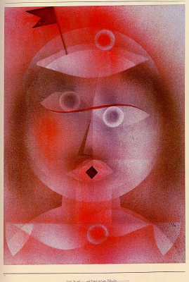 Paul Klee. The mask with the little flag