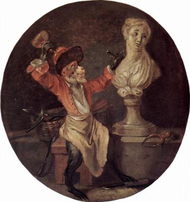 Antoine Watteau. Sculptor
