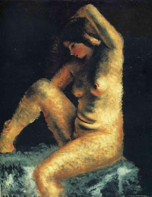 Андре Дерен. Красивая модель