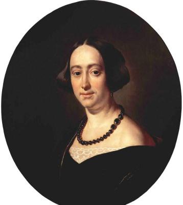 Vasily Andreevich Tropinin. Portrait Of Elizaveta Vladimirovna Masorini
