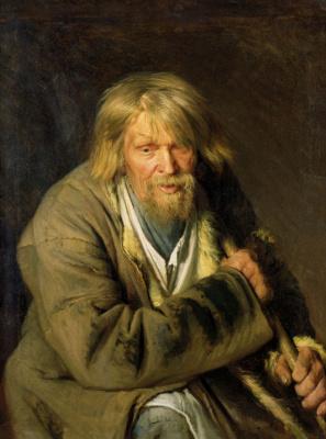 Ivan Nikolayevich Kramskoy. Portrait of an old peasant