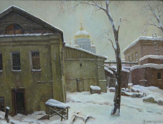 Владимир Алексеевич Парошин. Падает снег