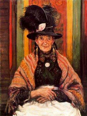 Лора Найт. Портрет женщины