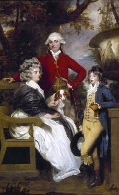 Joshua Reynolds. Braddill Family Portrait