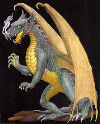Джордж Барр. Дракон