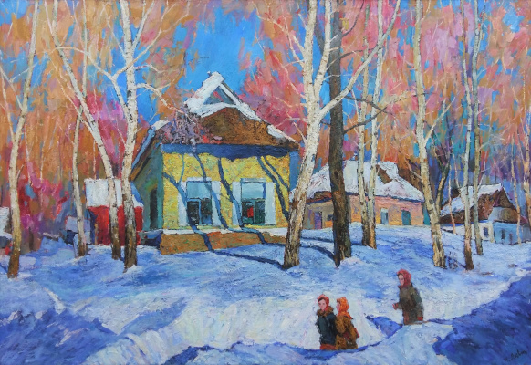 Иван Дмитриевич Логвин. Зима.