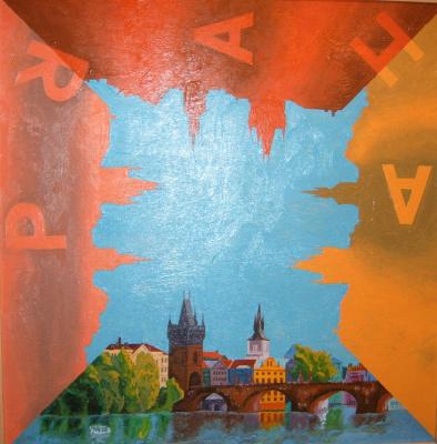 Андрей Федькин. Триптих «Прага» «Страдания по Праге»