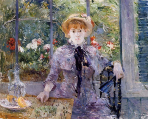 Berthe Morisot. After lunch
