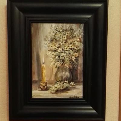 Алина Евгеньевна Шварёва (Галкина). Night flowers and sauna candle