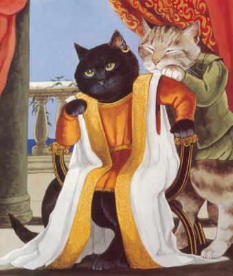 Сьюзан Герберт. Черный кот