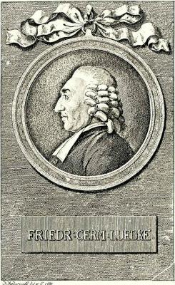 Даниэль  Николай Ходовецкий. Портрет проповедника Фридриха Г. Людке