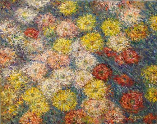 Александр Владимирович Казанцев. Flowers