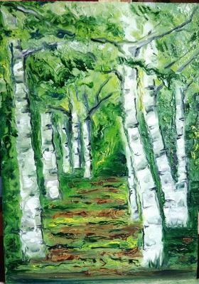Nadezhda Anatolyevna Poleva. Forest grove