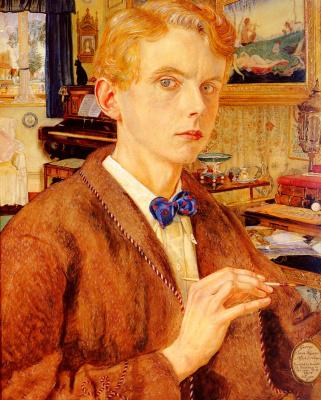 George Owen Wynne Upperley. Portrait of the artist