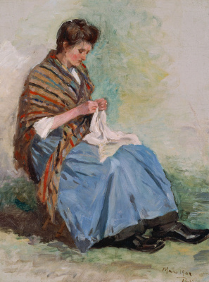 Asai Tyu. Seamstress