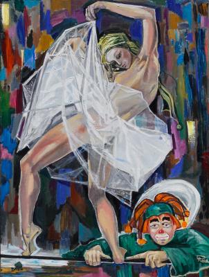 Rafael Haim Derchansky. Dream of Clown