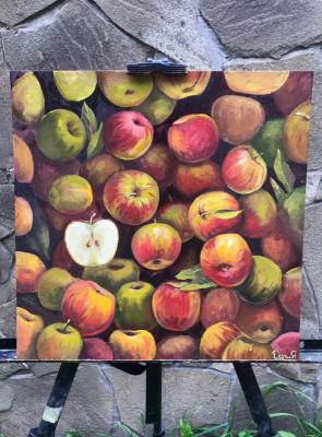 Daria Dmitrievna Polyakova. Apples