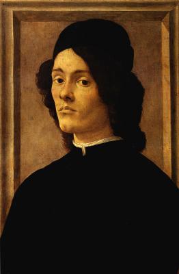 Сандро Боттичелли. Мужской портрет