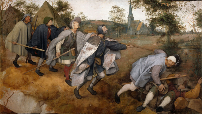 Pieter Bruegel The Elder. The Blind