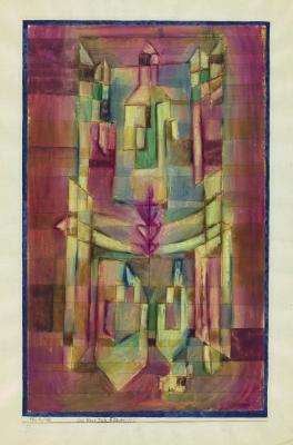 Paul Klee. Das Haus zum Fliegerpfeil