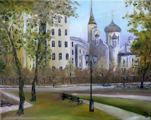 Sergei Nikolayevich Khodorenko-Zatonsky. Voronezh. Blagoveshchensky Cathedral