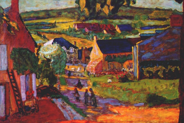 Pierre Bonnard. Saint-Honoré-Les-Bains