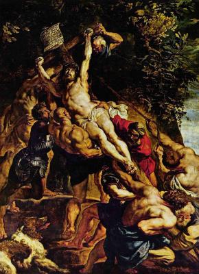 Peter Paul Rubens. The Erection Of The Cross