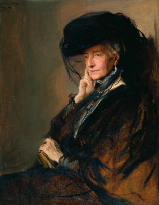Philip De Alixis Laszlo. Lady Vanteige. 1911