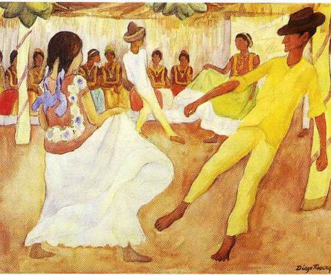 Диего Ривера. Танцы