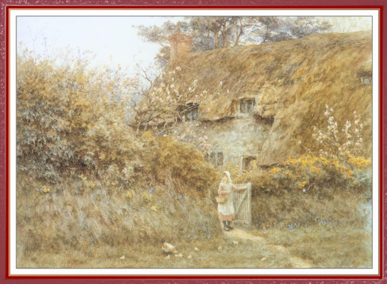 Helen Allingham. In the country
