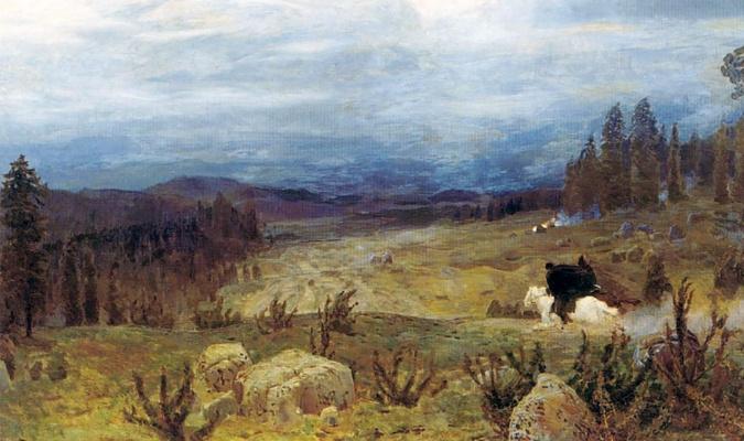Аполлинарий Михайлович Васнецов. Сибирь