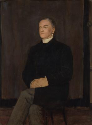Фернан Кнопф. Портрет Августина ван Рейккеворсела