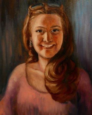 LENA Levskay (ړ יי) ღ. Portrait of a female student