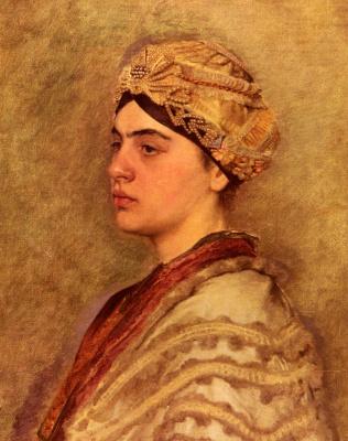Исидор Кауфман. Еврейская невеста