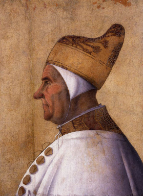 Gentile Bellini. Portrait of Doge Giovanni Mocenigo