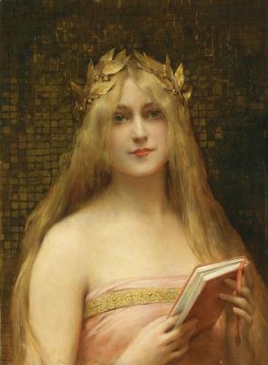 Leon Francois Comerre. Classical beauty.