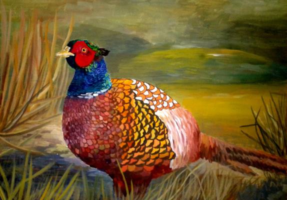 Julia Sergeevna Bochkareva. Pheasant