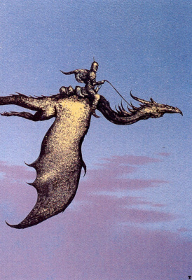 Кируело Кабрал. Полет на драконе